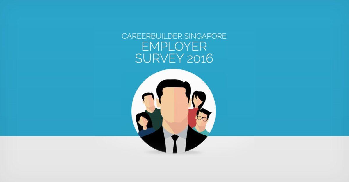2016 CareerBuilder Singapore Employer Survey
