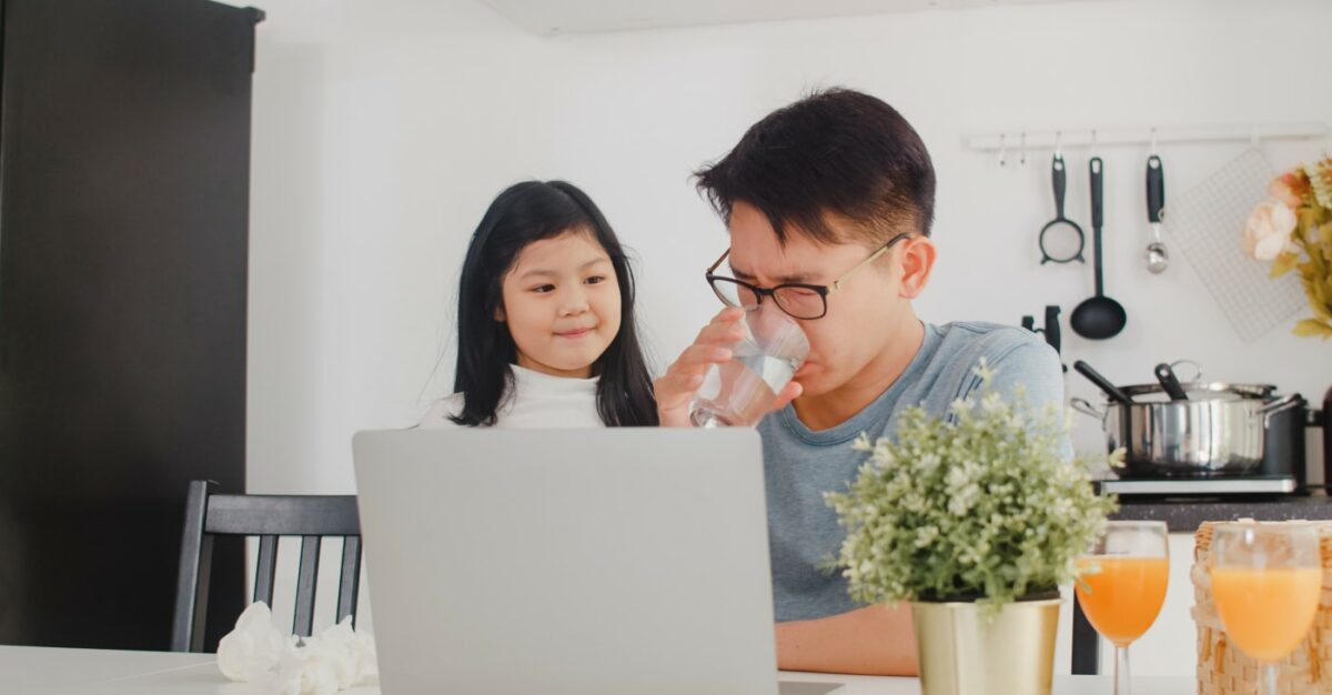 How to Work from Home – with the Family!