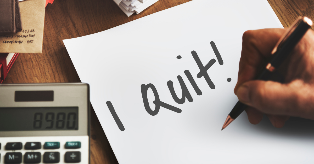 Why Are Employees Resigning in 2021?